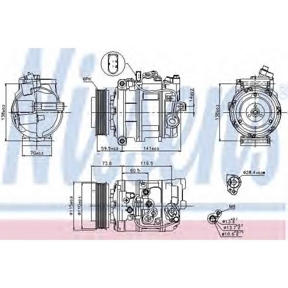 AC SIURBLYS  AUDI A4, A6 1.6-3.0 11.00-03.09